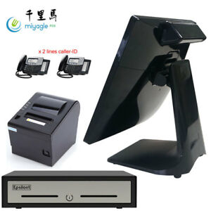 Slimpos 15 All In One Touchscreen J1900 Pos System Restaurant Point Of Sale