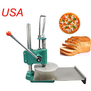 Household Pizza Dough Pastry Manual Press Machine Roller Sheeter Pasta Fda