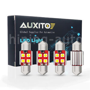 4x Canbus De3175 Led Interior Dome Light Bulb For 97 2017 Toyota Camry Corolla C