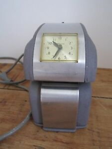 Vintage Simplex Electric Time Clock