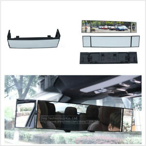 Car Suv Panoramic Anti Dazzling Rearview Mirror Large Vision 380mm Curved Mirror