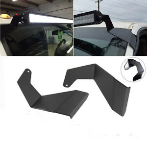52 Straight Led Light Bar Mount Roof Bracket Fit 99 14 Dodge Ram 1500 2500 3500