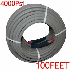 100 Hot Water Pressure Washer Hose With Quick Connects 4000 Psi 3 8 2018 Qc