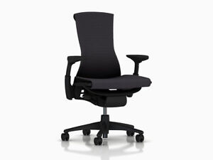 Herman Miller Embody Office Chair Brand New Carbon Balance Fabric