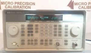 Hewlett Packard 8648b Signal Generator 2000 Mhz W Opt Uk6 Nist Traceable Cert