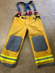 Osx Firefighter Suits Fire Turnout Pants Bunker Gear 44 30 09 2011