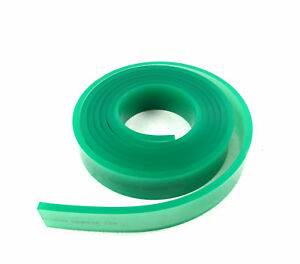 Screen Printing Squeegee Blade Replacement Green Color Rubber Blade