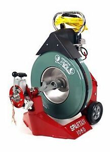 Spartan Tool 1065 Drum Drain Cleaning Machine For 3 To 10 Drain Lines 44115804
