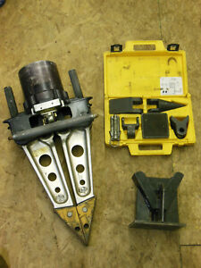 Hurst Jaws Of Life Hydraulic Rescue Tool With Extras Stand Vehicle Extration