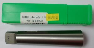 Jacobs Mt 4 3 Morse Taper Reduction Tool Adapter 743hg Sleeve Lathe Mill New Usa