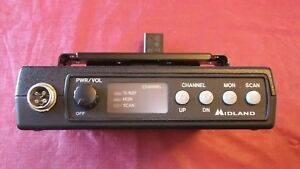 Midland 70 1336b 8 Channel 150 174mhz Vhf Radio Mic Power Cable Taxi