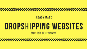 2 Drop Shipping Ready Made Website files Only