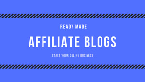 2 Affiliate Made Website files Only