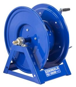 Coxreels 1125wcl 6 ea 115v 1 2hp Motorized Welding Cable Reel Up To 2awgx300ft