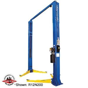Rotary Revolution R12 12 000lb 2 post Lift Choice Of Overall Heights