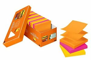 Post it Super Sticky Pop up Notes Rio De Janeiro Collection 90 Sheets pad r33