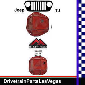 Jeep Tj Dana 44 30 Rt Offroad Hd Covers Pinion Kits Front And Rear Rough Trail