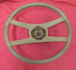 Gm Steering Wheel Tan Used Stock Gm Truck