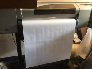 Hp Designjet 500 24 Printer plotter Used But Works Well