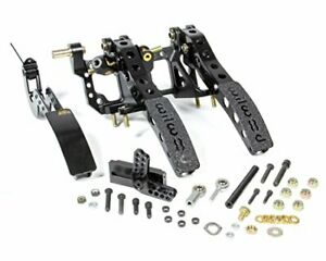 Wilwood 340 12411 Pedal Assembly Floor Mount W Throttle Pedal Link
