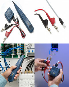 Tone Generator And Probe Kit Easy Transport Access To Individual Pairs Cables