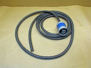 Cord Set Hubbellock 30a 5 Wire 600v Armoured Plug W 13 Ft 12 4 Cable D6733