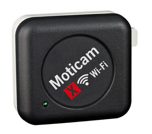 Wifi Microscope Camera 1 3mp Moticam X By Motic