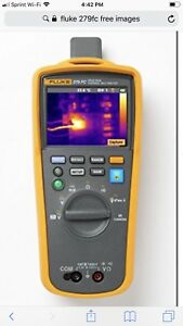 Fluke 279 Fc Thermal Multimeter With Integrated Imager Camera