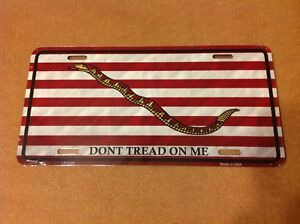 Dont Tread On Me Culpepper Wholesale Metal Novelty Wall Decor License Plate