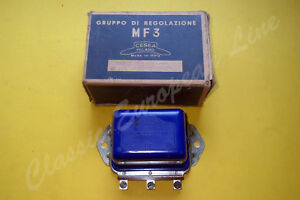 Fiat 500 600 Bianchina Voltage Regulator Cesea Milano 180 12 51 67 30 Rif 324