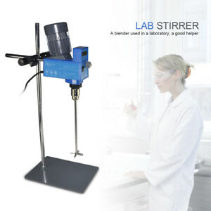 Laboratory Overhead Stirrer Mixer Lab Stirrer Mixer 20l For Medium Viscosity