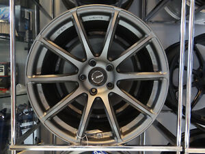 Rays Gram Light 57transcend Wheels Matte Graphite 18x10 40 15 Wrx sti