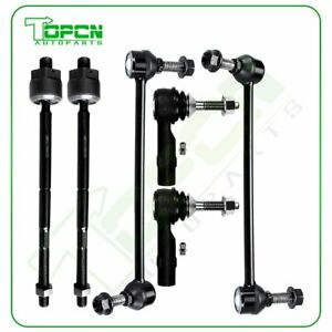 6pcs For 2010-2011 12 Lincoln MKT Stabilizer Bar Links Inner Outer Tie Rod Ends $43.67
