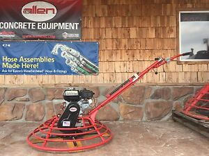 New Allen Engineering 36 Vp Concrete Power Trowel Fine Pitch 5hp