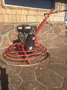 Allen Engineering 36 Vp Concrete Power Trowel Fine Pitch 5hp