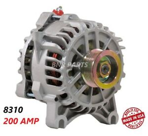 200 Amp 8310 Alternator Ford F Super Duty Excursion New High Output Performance