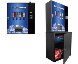 Beverages Vending Machine Cashless System Convenient For Small Spaces