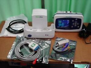 Welch Allyn Propaq Lt Vital Signs Monitor Ekg Spo2 Mibp