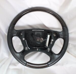 Oem Mercedes Benz Wood Leather Steering Wheel A21946021039e37