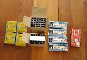 Lot Of Vintage 1950s Staples Fasteners Arrow 2400 T50 King 906c Markwell L3a