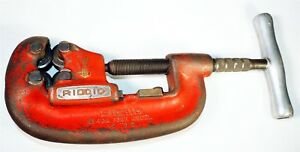 Used Ridgid No 42a C 177 2 Four Wheel 1 2 To 2 4 wheel Pipe Cutter M1