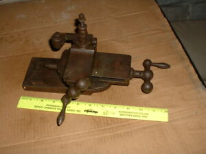 Vintage Compound Cross slide From Metal Lathe