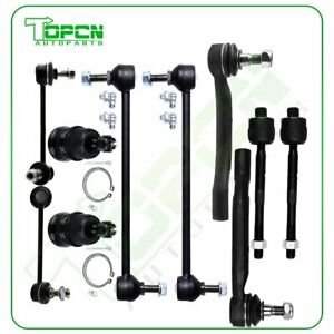 10pc Front Rear Suspension Kit Ball Joint For 2001 2005 Acura Mdx Honda Pilot