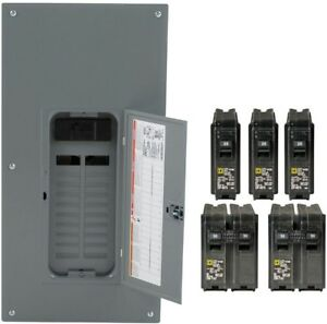 Square D 200 Amp Load Center Main Breaker Panel Electrical 40 Circuit 20 Space