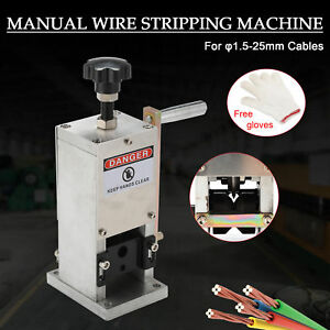 Wire Stripping Machine Portable Scrap Cable Stripper For Scrap Copper Recycling