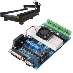 Interface Board Cnc 3 Axis With Optocoupler Adapter Stepper Motor Driver Q9