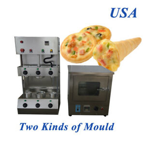 110v Commercial Electric Pizza Cone Forming Making Machine Middle Round
