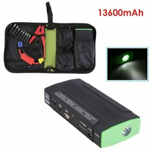 13600mah 12v Multi function Car Power Bank Battery Charger Booster Jump Start Qz
