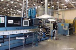 Used Davis standard Engineered Extrusion Line Line Assembled By Davis standard