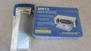 Securitron Mm15 12 24 Vdc 4000lb Dual Action Electromagnetic Lock 60 Day Returns
